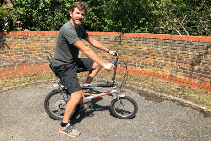 Raleigh Chopper restoration